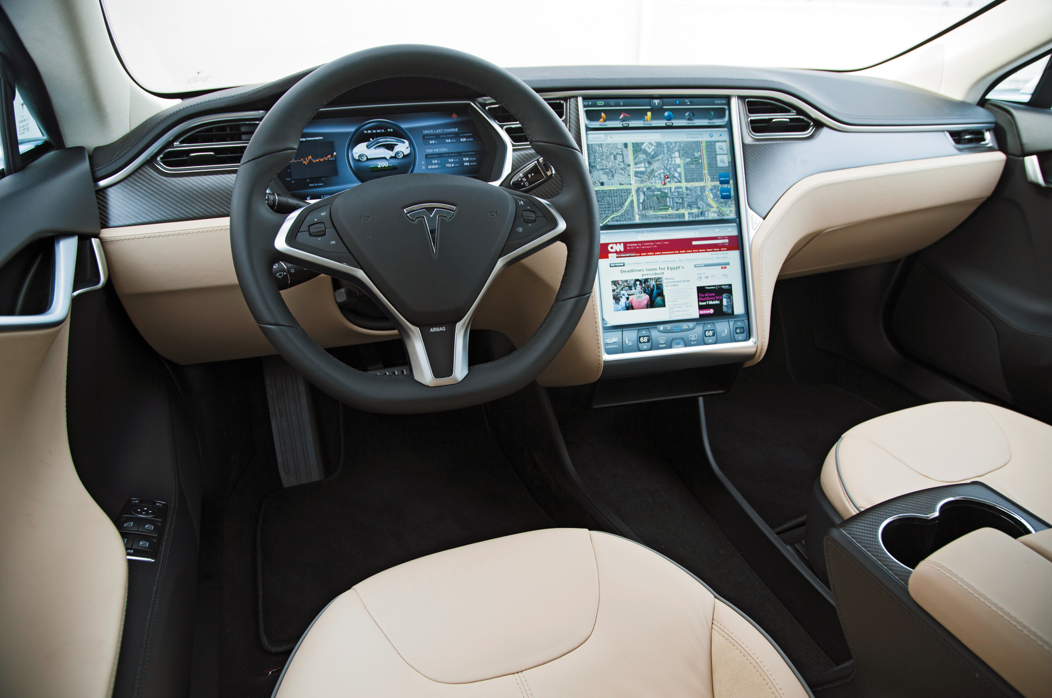 Tesla Car Model X Interior - Tesla Image