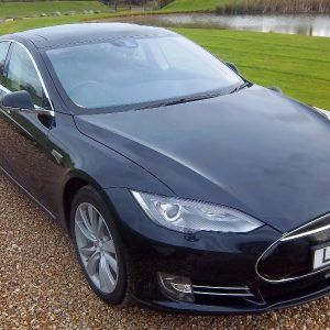Tesla Model S 85 – Blue With Tech Package & Autopilot